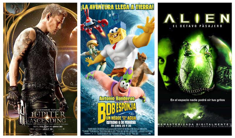 Estrenos 6 de febrero de 2015 en los Cines La Vaguada