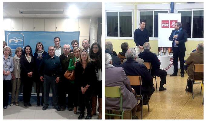 PP y PSOE de Fuencarral-El Pardo se preparan para la carrera electoral