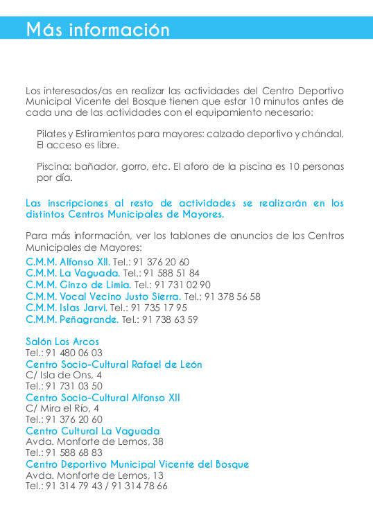 Semana de los Mayores de Fuencarral-El Pardo 2015