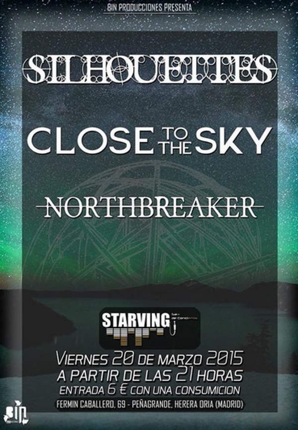 Conciertos Sala Starving 20 de marzo de 2015