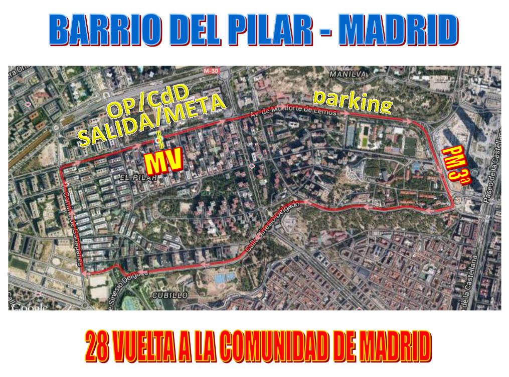 Vuelta a Madrid 2015. Barrio del Pilar