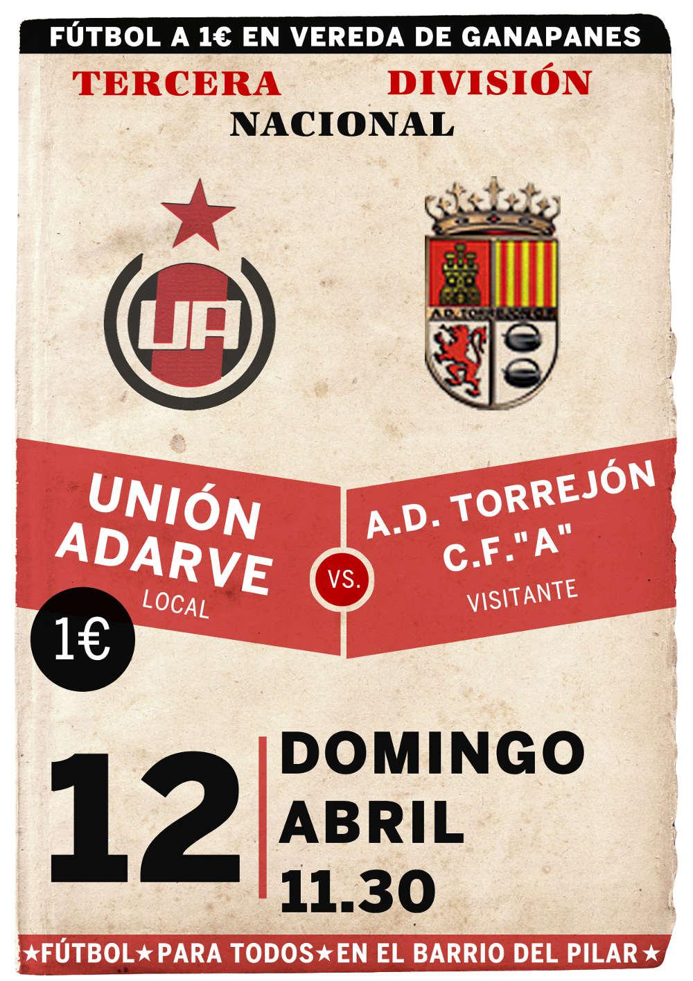 Unión Adarve vs A.D. Torrejón