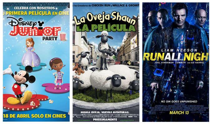 Estrenos de los cines La Vaguada del 17 de abril de 2015