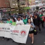 Manifestación biblioteca Caja Madrid