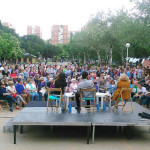 Manuela Carmena en el Barrio del Pilar