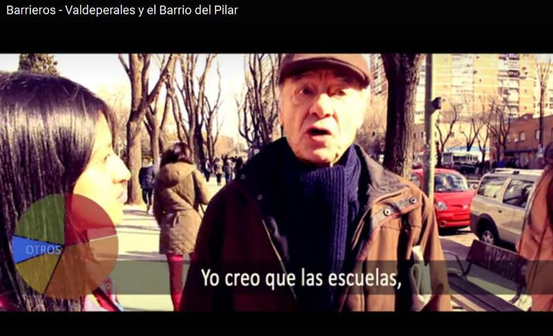 Reportaje Callejeros Barrieros Asociación Valdeperales