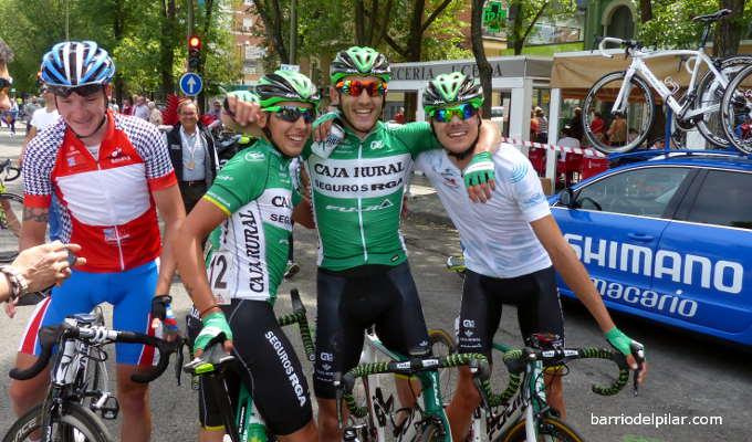Carlos Barbero, victoria en la etapa del Barrio del Pilar en la Vuelta a Madrid