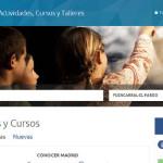 Inscripciones en Talleres y Cursos de centros culturales del ayuntamiento de Madrid