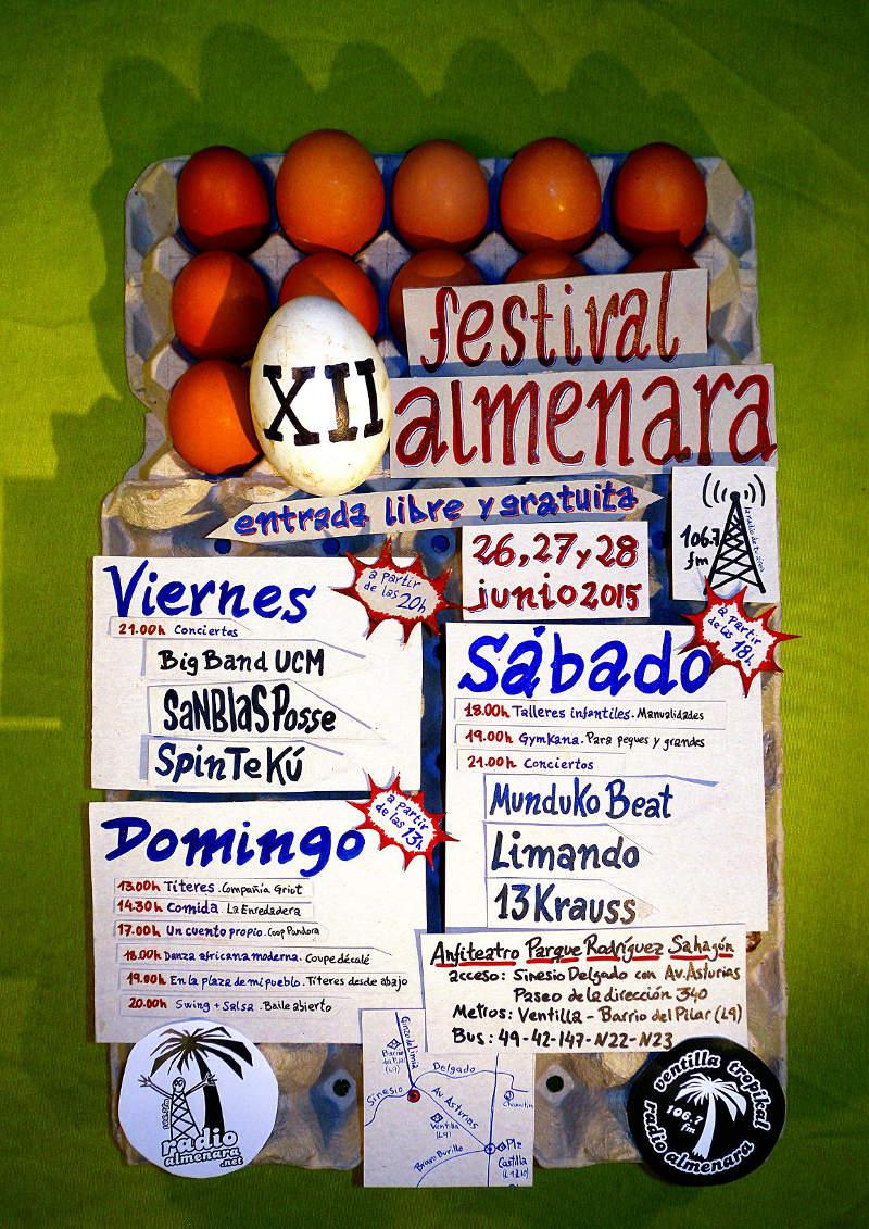 Programación de XII Festival Almenara