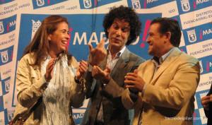 Pedro Zerolo. Fiestas del Barrio del Pilar 2011