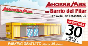 Apertura de AhorraMás Barrio del Pilar 30 de julio