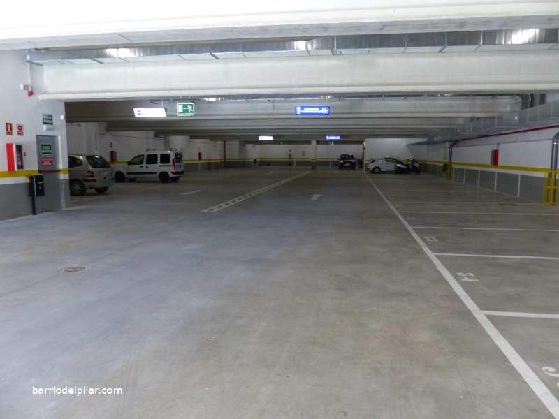 Parking AhorraMás Barrio del Pilar