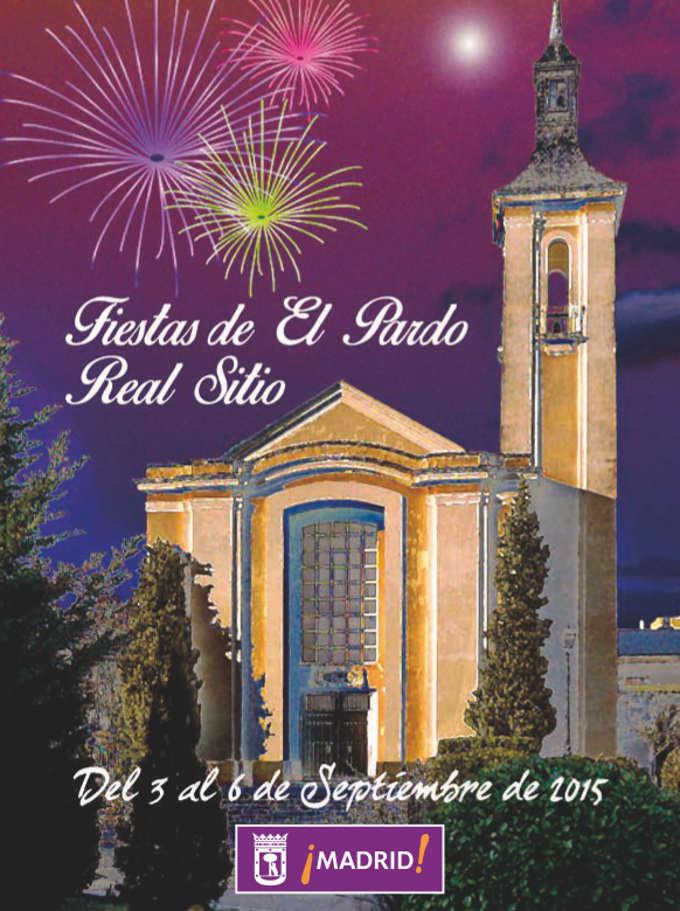 Cartel de las Fiestas de El Pardo 2015