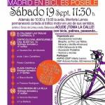 IX Marcha en Bici Semana Europea de la Movilidad en Fuencarral-El Pardo