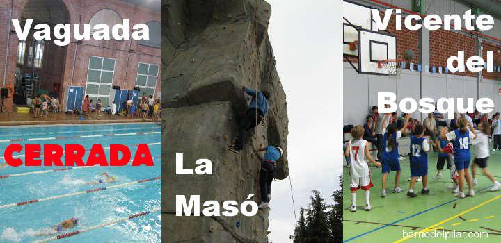 Polideportivos municipales del Barrio del Pilar