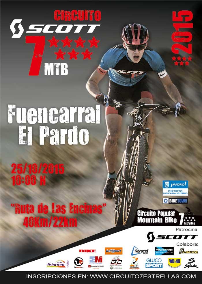 """Circuito 7 Estrellas """"Ruta de las Encinas"""" El Pardo"""