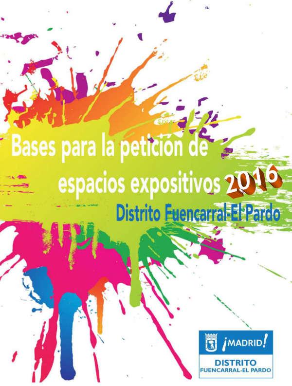 Espacios expositivos de Fuencarral-El Pardo 2016