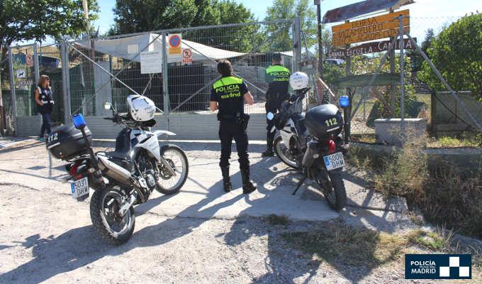 Criadero ilegal de perros en Fuencarral-El Pardo