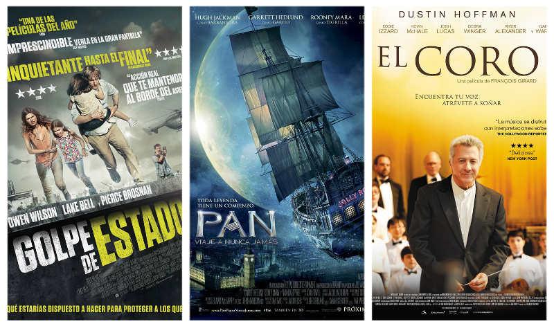 Estrenos de la semana en los cines La Vaguada 9 de octubre de 2015