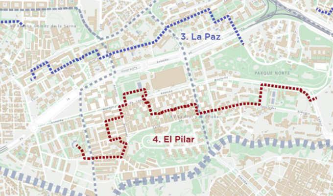 Mapeo Barrio del Pilar