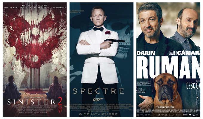 Estrenos de los cines La Vaguada 6 de noviembre de 2015