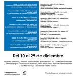 Cartel Cine en Navidad 2015 Fuencarral-El Pardo