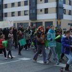 Manifestación reclamando un IES para Montecarmelo