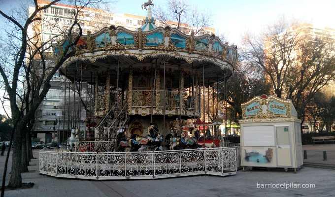 Carrusel Navidad 2014 en el Barrio del Pilar