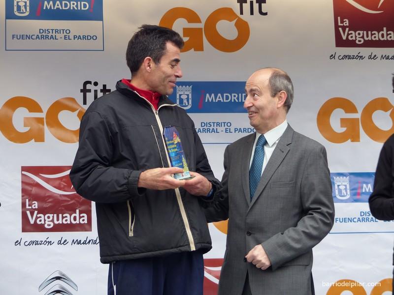José Félix Ortiz García vencedor de la Carrera Solidaria de Reyes 2016