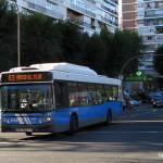 Autobús 83 de la EMT