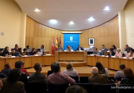 Pleno del Distrito de Fuencarral-El Pardo