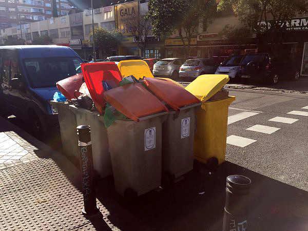 Basura en el Barrio del Pilar