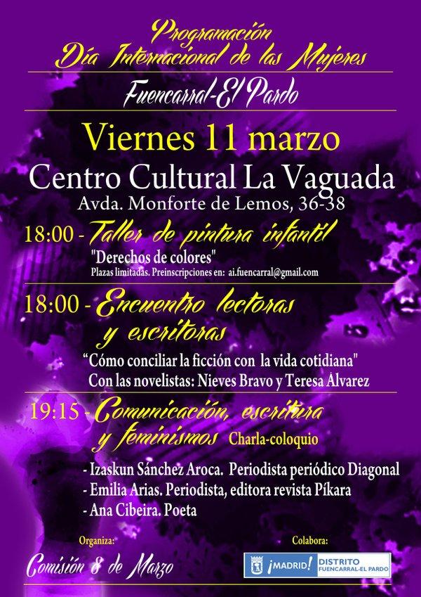 Día de la Mujer 2016. Fuencarral-El Pardo. 11 de marzo