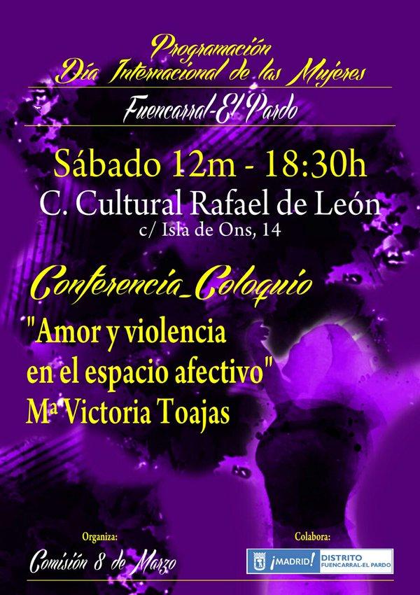 Día de la Mujer 2016. Fuencarral-El Pardo. 12 de marzo