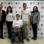 Paralímpicos en el colegio Valdeluz
