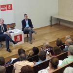 Ángel Gabilondo en acto del PSOE Fuencarral