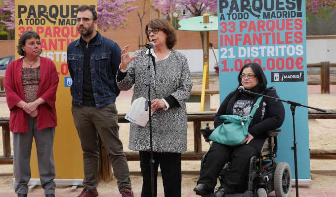 Renovación de parques Madrid