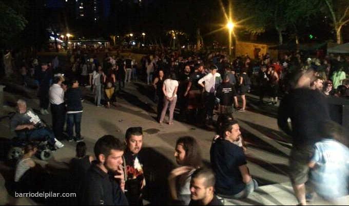 Festival por la Auto-Organización de los Barrios 2016. Barrio del Pilar