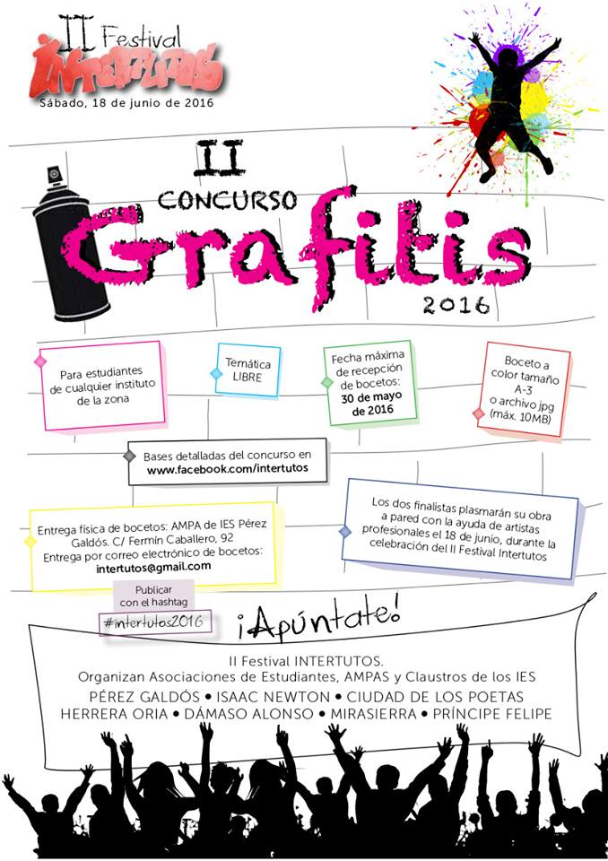 II Concurso de Grafitis Intertutos 2016