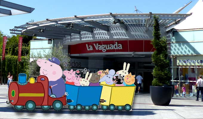Peppa Pig visita La Vaguada