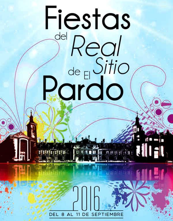 Cartel de las Fiestas de El Pardo 2016