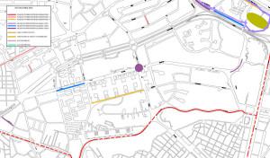 Plan de Choque de asfalto 2016 en el Barrio del Pilar