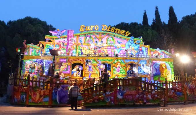 Atracción Euro Disney