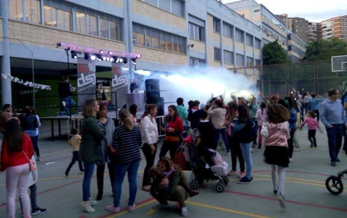 Disco-Móvil. Fiestas Colegio Valdeluz 2017