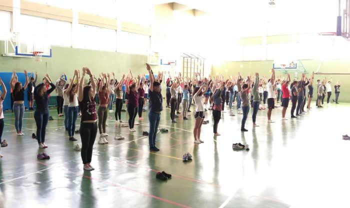 Fitness. Fiestas Colegio Valdeluz 2017