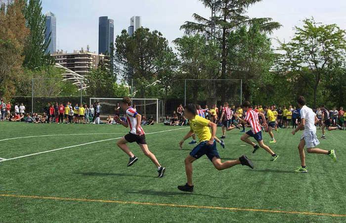 Fútbol 7. Fiestas colegio Valdeluz 2017
