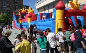 Hinchables. Fiestas colegio Valdeluz 2017