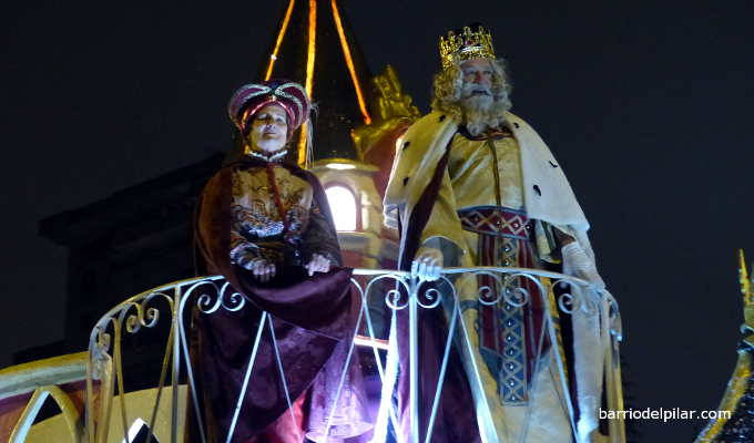 Cabalgata de Reyes del Barrio del Pilar 2020