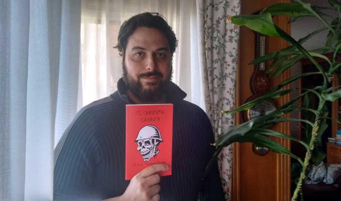 Entrevista: Rodrigo Martínez Puerta autor de «El Sargento Cadáver»